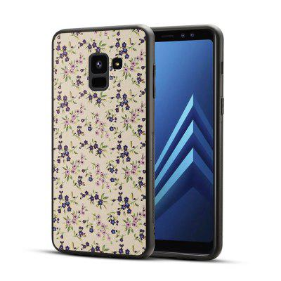 For Samsung A8 2018 Cherry Blossom Phone Protective Cover