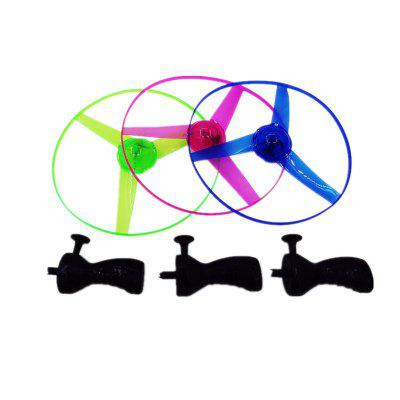 Light Arrows Flying Saucer Outdoor Toys  3PCS
