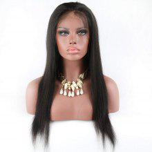 Glueless Full Lace Wigs Silky Straight with Baby hair for Women