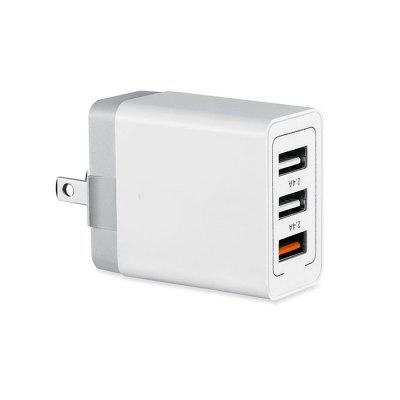 Minismile QC3.0 Quick Charge 3-Port USB Power Adapter Wall Fast Travel Charger