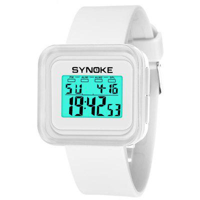 SYNOKE Children and Colorful Luminous Waterproof Jelly Watch -  7.63 Free  Shipping 482f8679a4ff