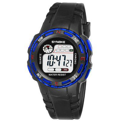 SYNOKE Children LED Waterproof Electronic Watch