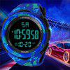 HONHX Men's Sports Digital Watch Military Army Waterproof Wrist Clock - MULTI-C