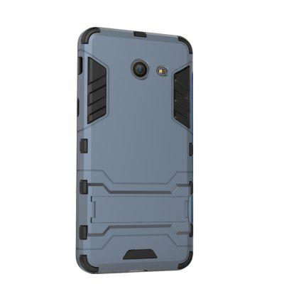 Case for Samsung J5 2017 with Stand Back Cover Solid Colored Hard PC Material