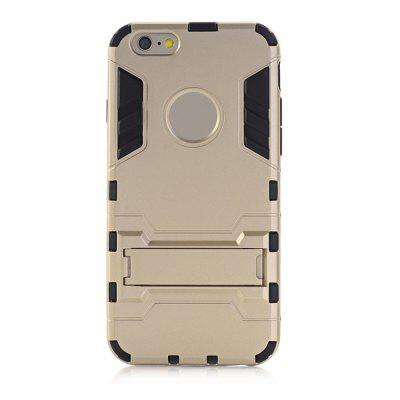 Case for iPhone 6 Plus / 6s Plus with Stand Back Cover Solid Color