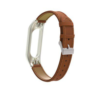 Leather Bracelet for Xiaomi Mi Band 3 Strap Watch