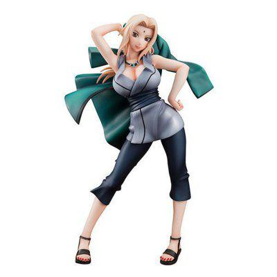 PVC Static Action Figure Model Office Decor Five Hokage