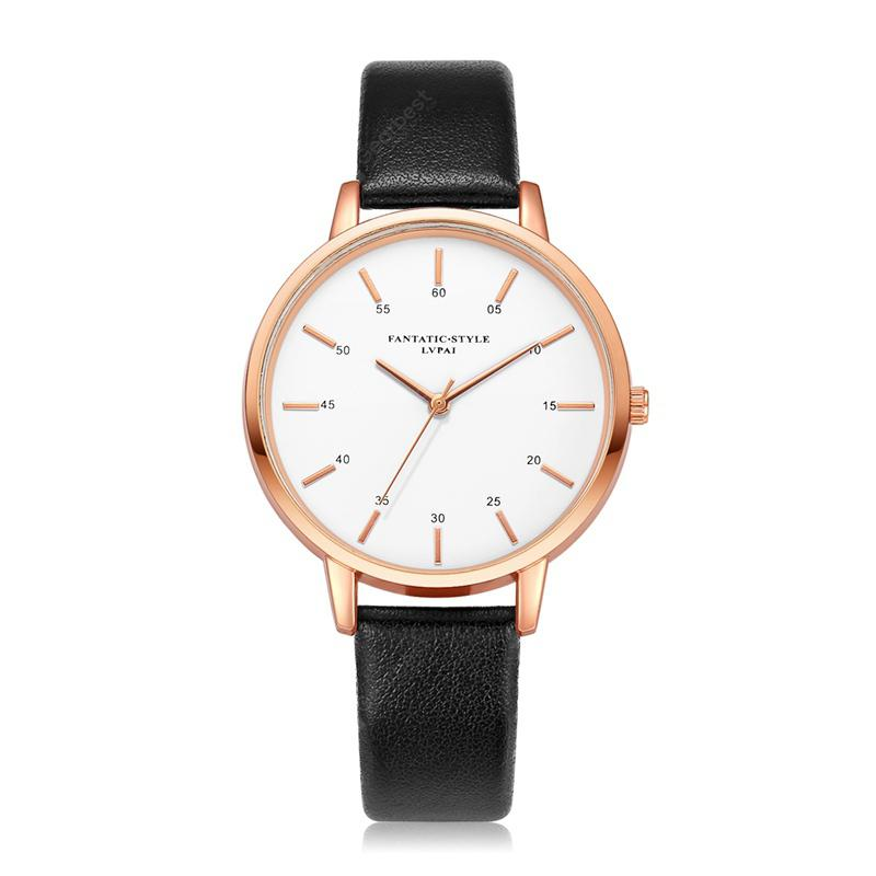 Lvpai P363 Student Simple Casual Female Leather Wrist Watch For Ladies