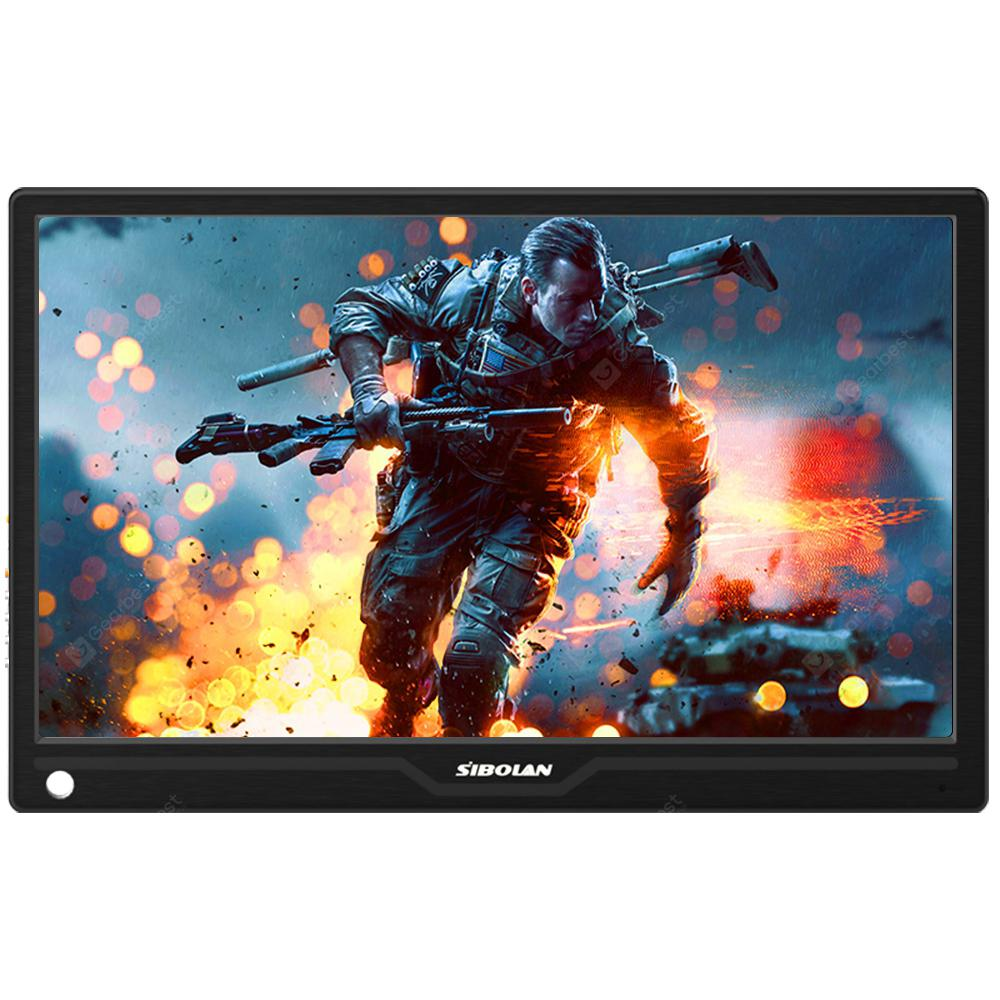 SIBOLAN S15c 13.3 inch IPS USB Portable Monitor 1080P HDR with HDMI/TYPE-C input - BLACK