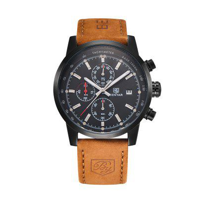 BENYAR Fashion Chronograph Sport Männer Top Marke Luxus Quarzuhr