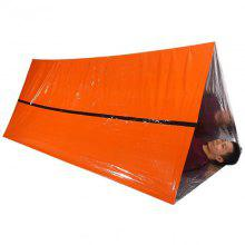 Orange Emergency Shelter Outdoor Waterproof Thermal Blanket Emergency Rescue Cam