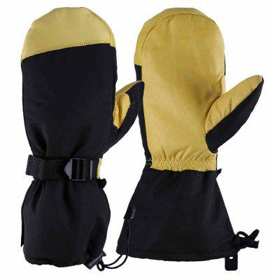 OZERO -40 Deg.F Cold Proof Winter Skiing Mittens Gloves for Men and Women