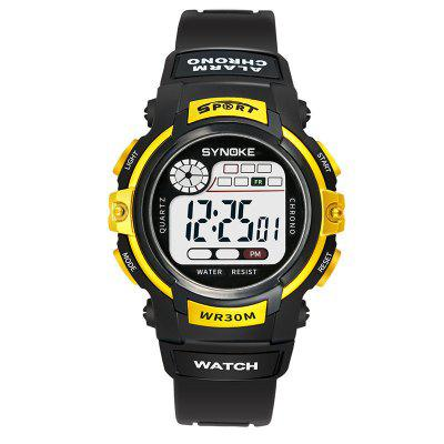 SYNOKE Kindermode LED Waterproof Sports Watch