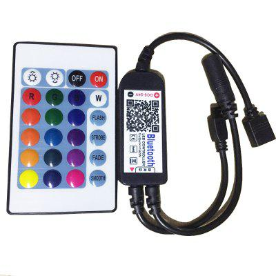 Bluetooth Controller with APP 24KEY IR Remote Control for LED RGB Strip Light