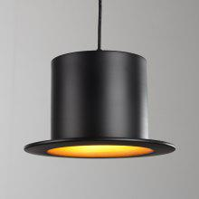 Gentleman Hat Light Simple Modern Restaurant Single Head Chandelier