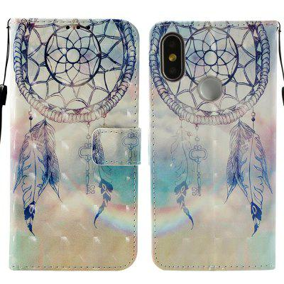 3D Flip Wallet Stand Case para Xiaomi 8 Fashion Beautiful Pattern