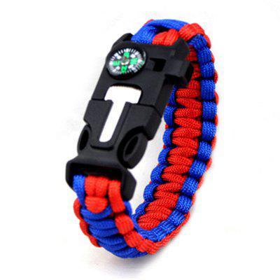 Survival Watch Camping Hiking Military Tactical Gear Outdoor Camping Bracelet