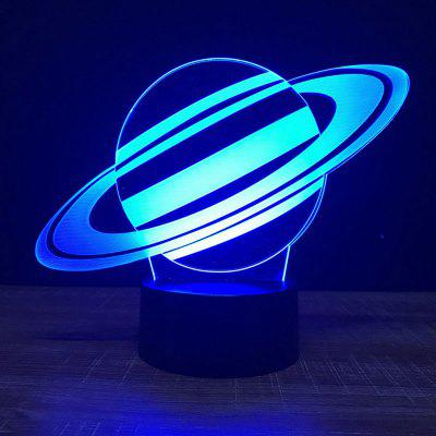 Saturn Shape Touch Colors Changing LED Night Light