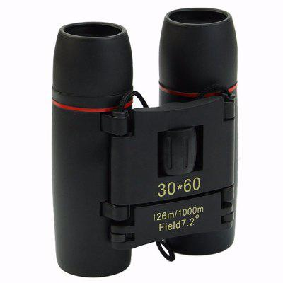 30X60 Magnification Outdoor Travel Folding HD Binoculars