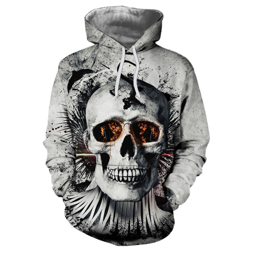 3D Printing New Autumn Winters Person Cranial Head Hooded Fleece