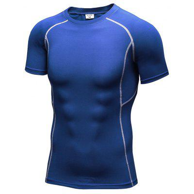 Männer Workout Athletic Compression T-Shirt