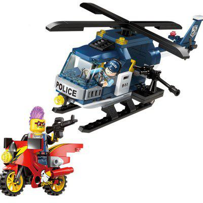 Kid's Blocks Assemble Building Delicate Environmental Construction Toy mtele 6729 toy building blocks minifigures gift for kids policeman swat and helicopter building bricks kit assemble set