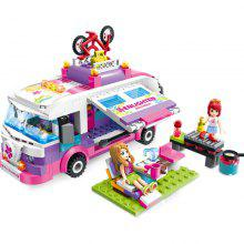 Baby Girls Building Blocks Toys 277 Pcs Puzzle Assemble Blocks
