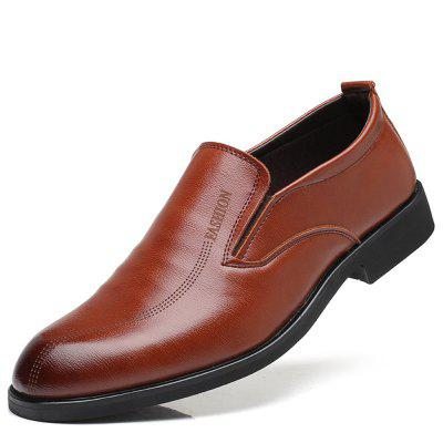 Fashion Men's Leather Casual Business Shoes
