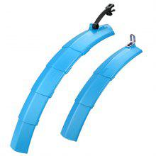 Bicycle Telescopic Folding with Taillight Front Rear Bike Fenders