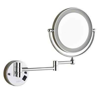 High-end Bathroom Wall Mounted Led Magnifying Makeup Mirror