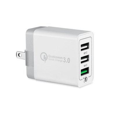 Minismile Universal 42W QC3.0 Szybka ładowarka 3-portowa ładowarka ścienna Szybka ładowarka