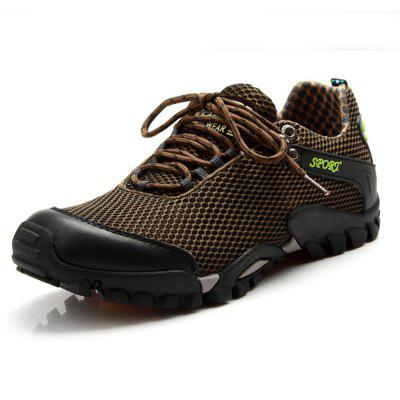 ZEACAVA Breathable Mesh Outdoor Climbing Sports Rubber Outsole Handmade Shoes cie round toe mackay blake custom handmade calf genuine leather outsole breathable men s casual oxfords color purple shoe ox519
