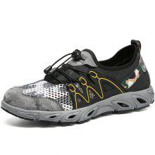 ZEACAVA Outdoor Camouflage Breathable Hiking Shoes