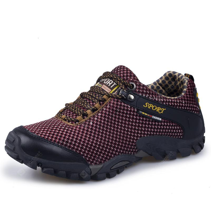 ZEACAVA Casual Outdoor Hiking Breathable Mesh Shoes