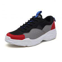 ZEACAVA Breathable Couple Thick Bottom Sports Trend Old Shoes