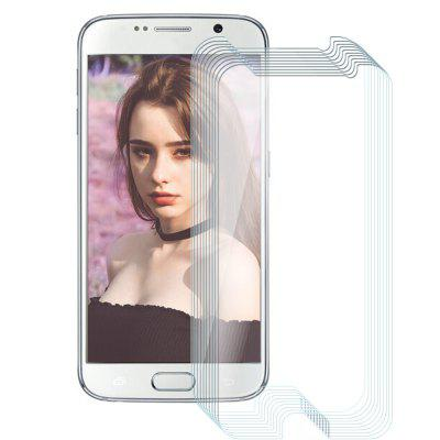 10pcs Tempered Glass Membrane Steel Half-screen 2.5D Round Edge for Samsung S6