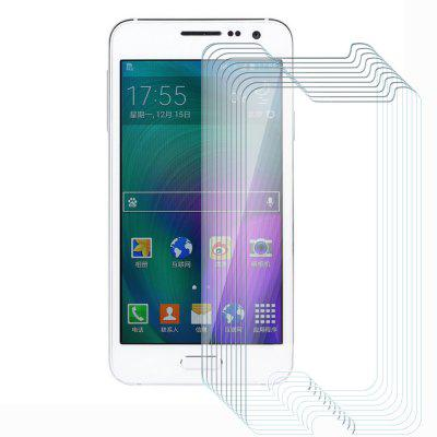 10pcs Tempered Glass Membrane Steel Half-screen 2.5D Round Edge for Samsung A3