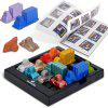 Traffic Jam Game IQ Car Puzzle Toys for Kids Smart Brain Rush Hour - NERO