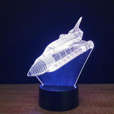 Aircraft Touch Colors Changing LED Night Light