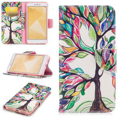 Energy Tree Pattern for Xiaomi Redmi Note 4 / Note 4X PU Leather Case Flip Cover