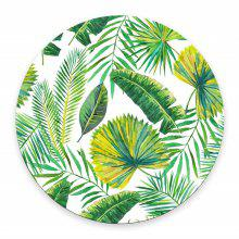 Green Leaves Gaming Water-resistant Mouse Pad