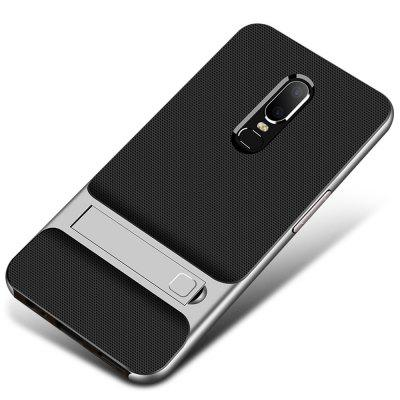 Case for Oneplus 6 Shockproof with Stand Back Cover