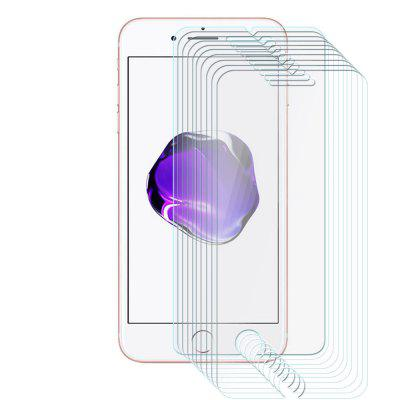10pcs Tempered Glass Membrane 2.5D Round Edge for iPhone 7