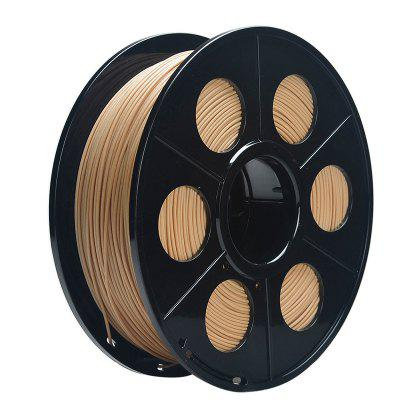 Huicai 3D Printer PLA Wood Filament Silk 1.75mm 1kg Spool Dimensional Accuracy +/- 0.02mm