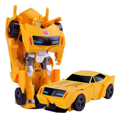 Toy Car Robot Deformation  Model  for Children
