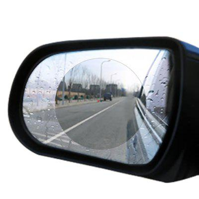 Filme anti-fog do espelho retrovisor do carro 2PCS