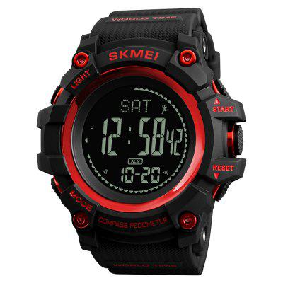SKMEI Fashion New Sports Outdoor Multifunzione impermeabile Tide bussola orologio