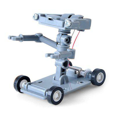 DIY Assembly Salt Water Powered Robot Kit Kid Science Educational Toy