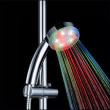 Super Bright Automatic 7 Colors LED Shower Head with Water Glow Light