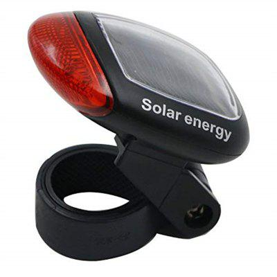 Solar Power LED Cycling Rear Safety Warning Light